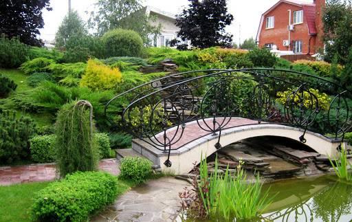 мостик во дворе
